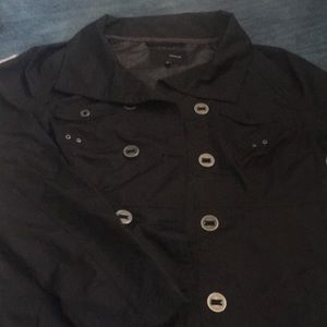 Women's large black Hurley jacket